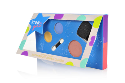 Empire State Gait - Klee Girls Natural Mineral Eyeshadow and Blush Combo Palette