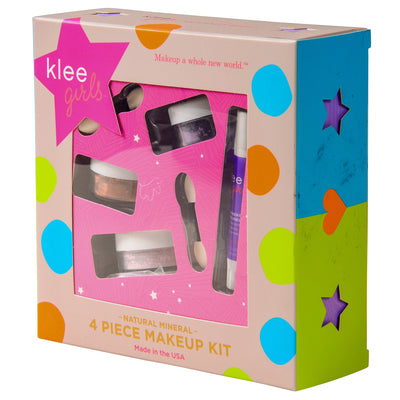 Glorious Afternoon - Klee Girls Natural Mineral Makeup 4 Piece Set