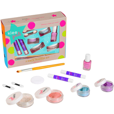Up and Away - Klee Girls Natural Mineral Makeup 7 Piece Set