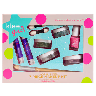 Far and Wide - Klee Girls Natural Mineral Makeup 7 Piece Set