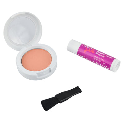 NEW!!! Peachy Pink Delight - Klee Girls Natural Mineral Blush & Lip Shimmer Duo