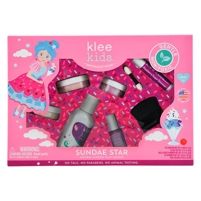 NEW!!! Sundae Star - Klee Kids Natural Mineral Play Makeup Set