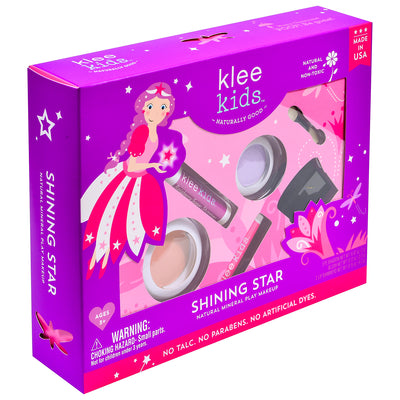 NEW!!!  Shining Star - Klee Kids Natural Pressed Powder Mineral Play Makeup Set
