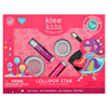 Lollipop Star - Klee Kids Natural Pressed Powder Mineral Play Makeup Set