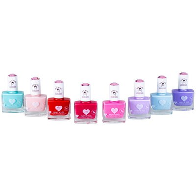 Starry Sky Kiss - Klee Kids Water-Based Nail Polish 3-Piece Set