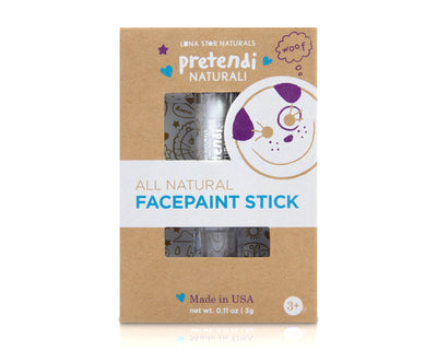 White - Pretendi Naturali All Natural Face Paint Stick