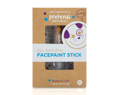 Gold - Pretendi Naturali All Natural Face Paint Stick