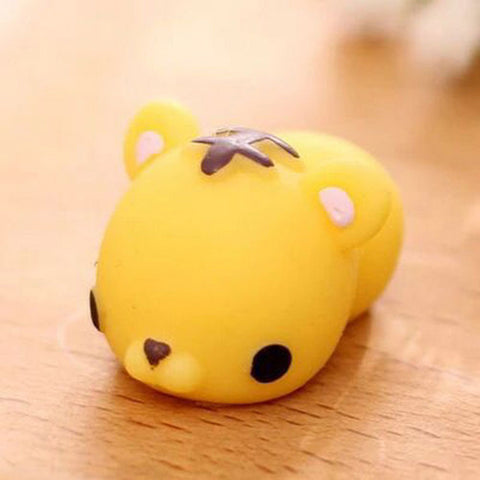 Yellow Tiger Squishy Toy