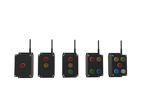RF remotes for Andon light