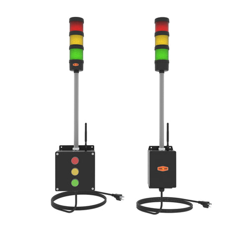 Wireless Tower Light system with remote control