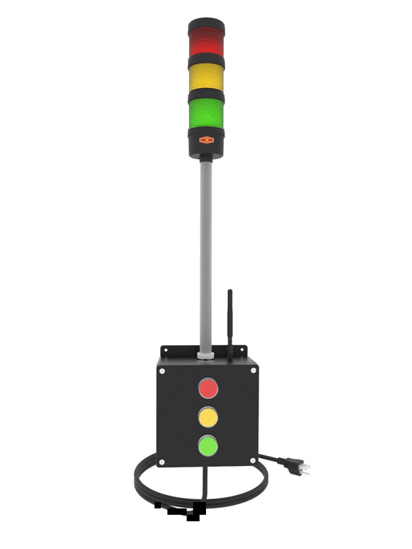 Remote controlled Andon Light