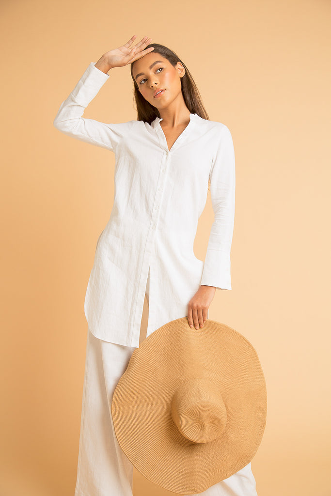 ATLAS LINEN TUNIC