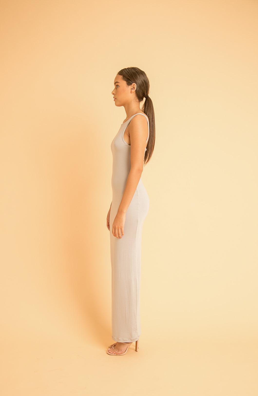 saint-mojavi - BOAT-NECK TANK DRESS - SAÏNT MOJAVÏ -