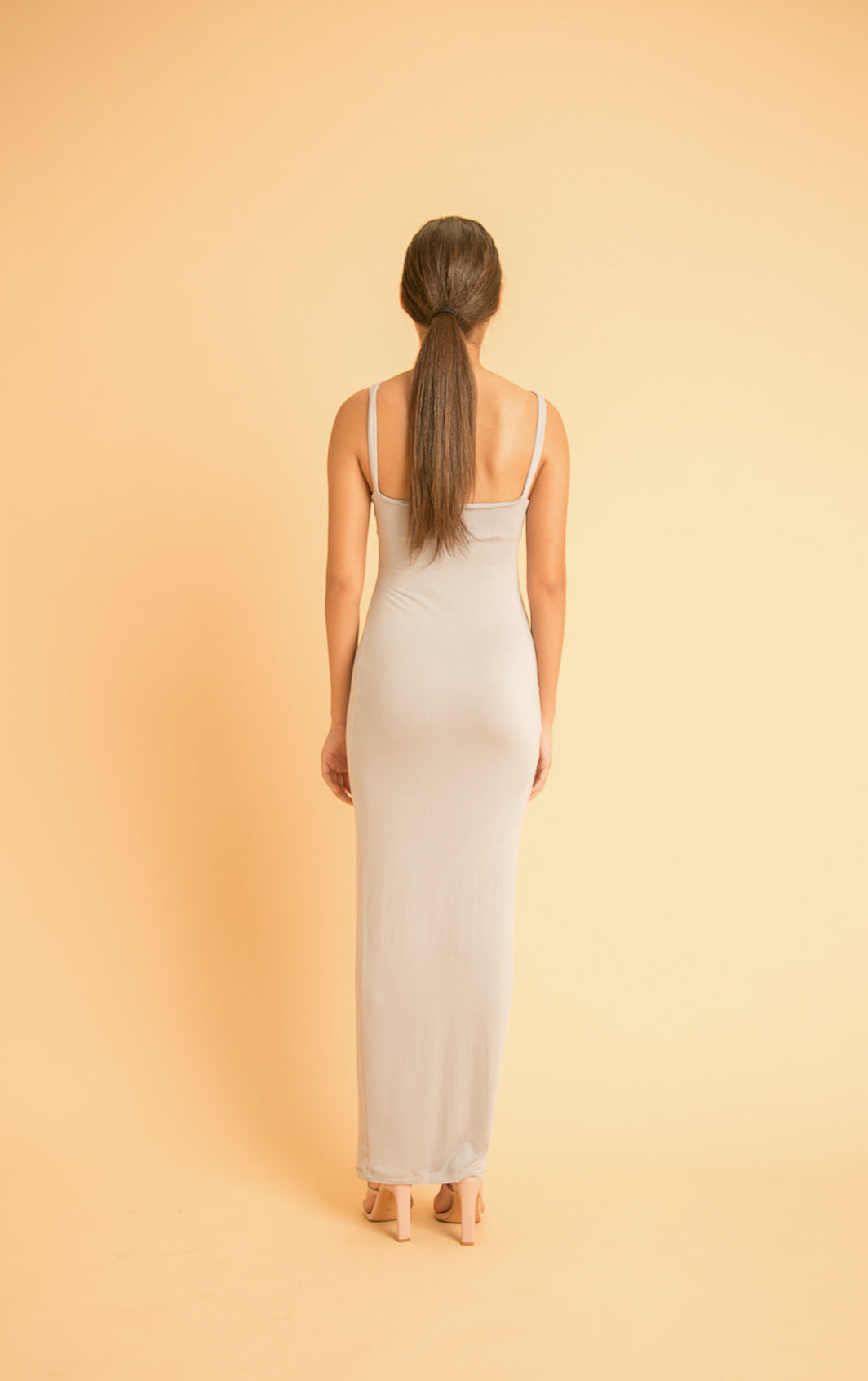 BOAT-NECK TANK DRESS