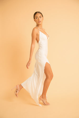 KALAHARI HALTER DRESS