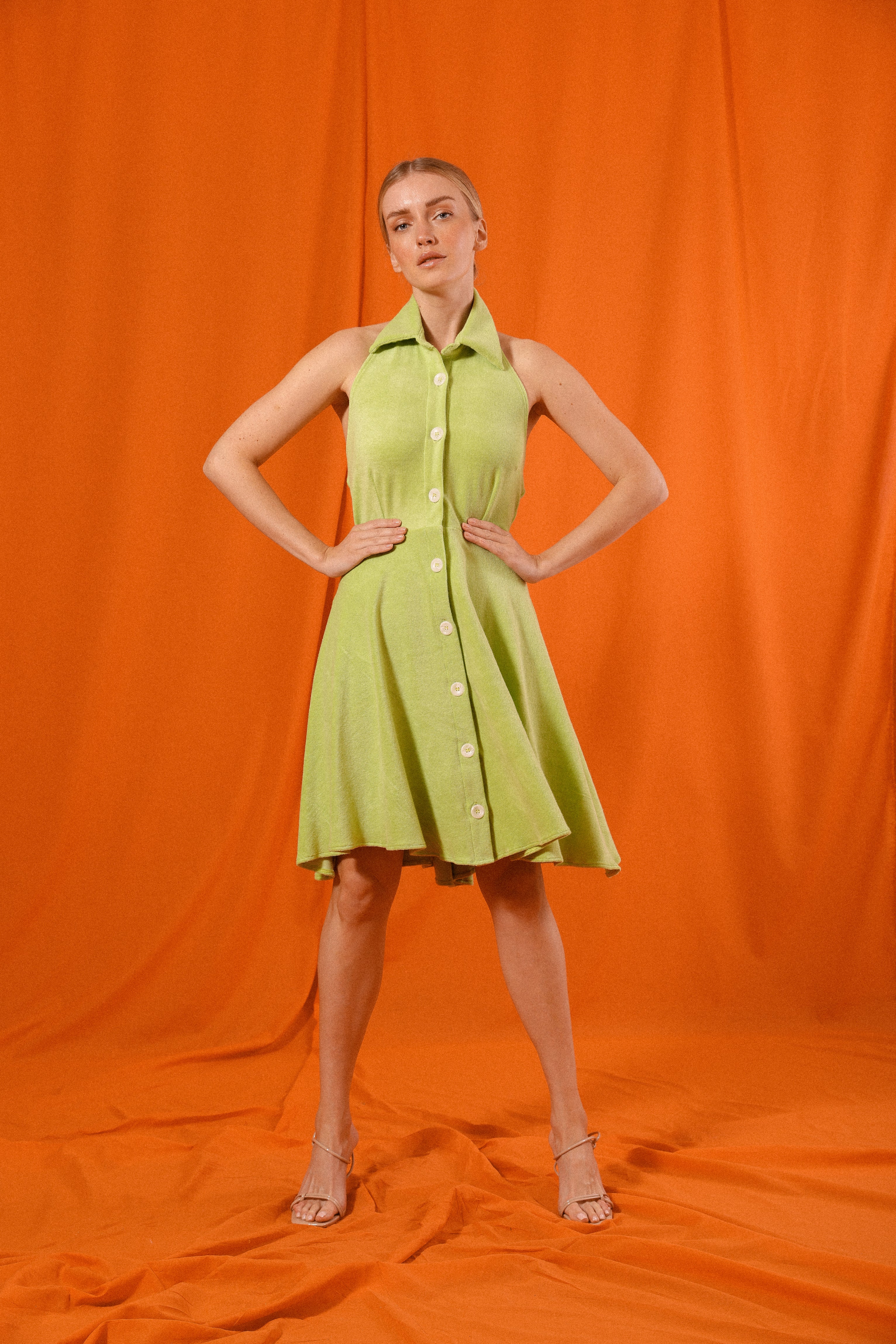 Terry Cloth Dress
