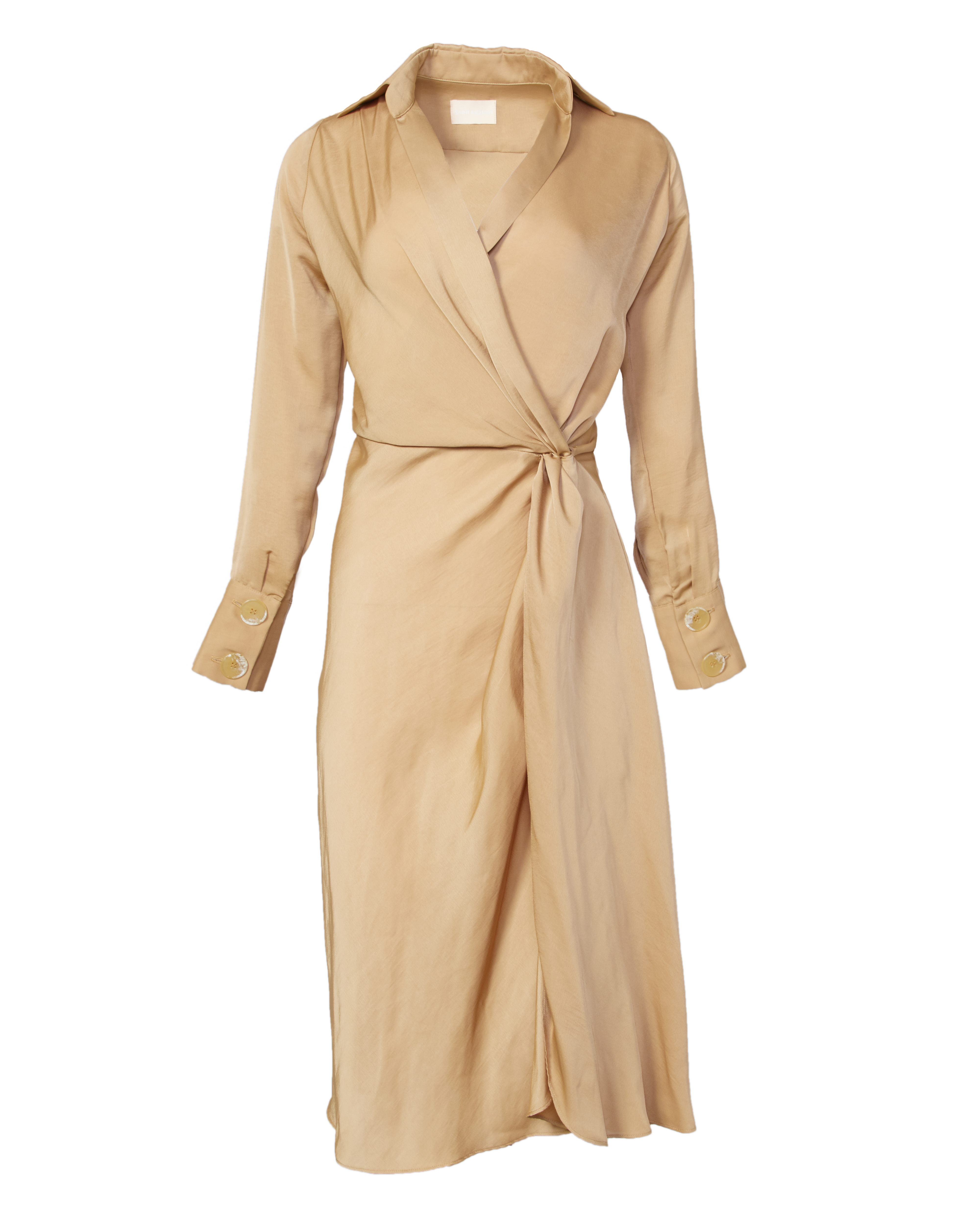 saint-mojavi - MAHARAJA WRAP DRESS - SAÏNT MOJAVÏ -
