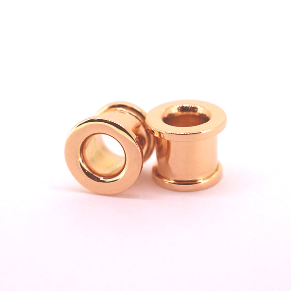 18k Rose Gold Eyelets - Pair