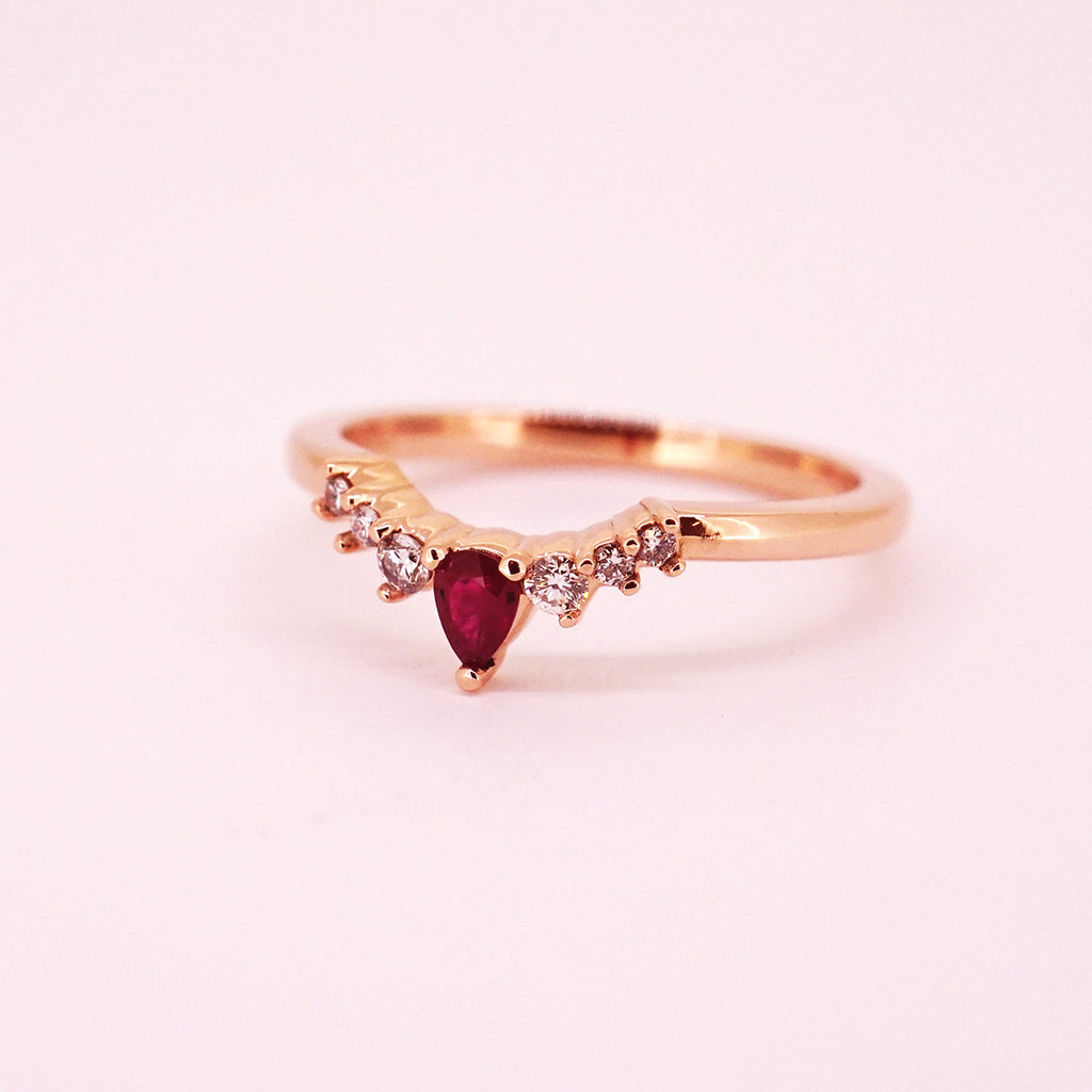 Contour Stackable Ring