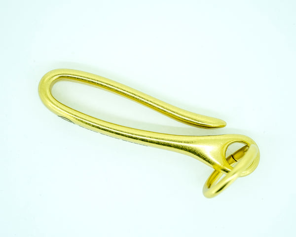 Anti-Microbial Brass Keyhook
