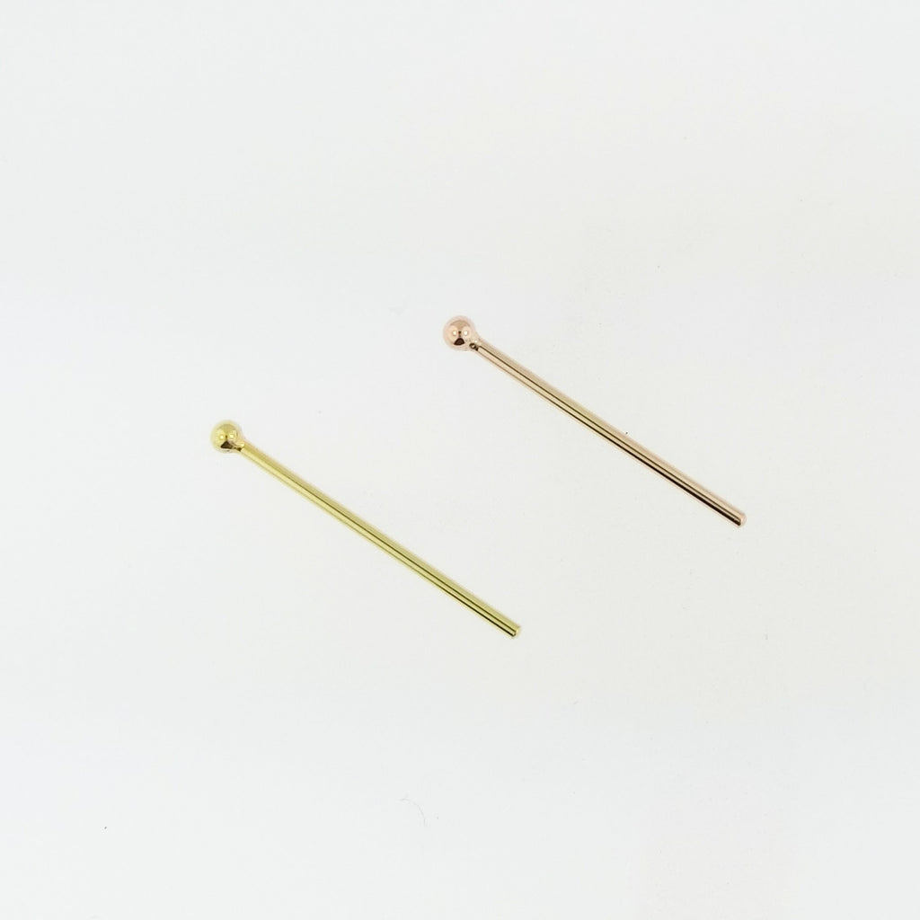 2mm Plain Ball Nostril Screw