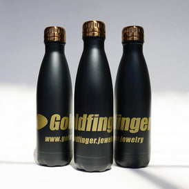 Goldfinger 17oz double wall vacuum bottle