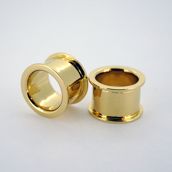 18k Yellow Gold Eyelets - Pair