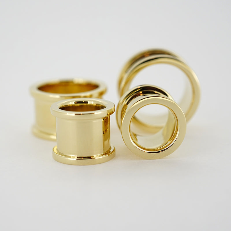 14k Yellow Gold Eyelets - Pair