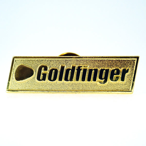 Bright Gold Logo Pin