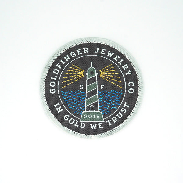 Goldfinger Patch - Lighthouse Edition