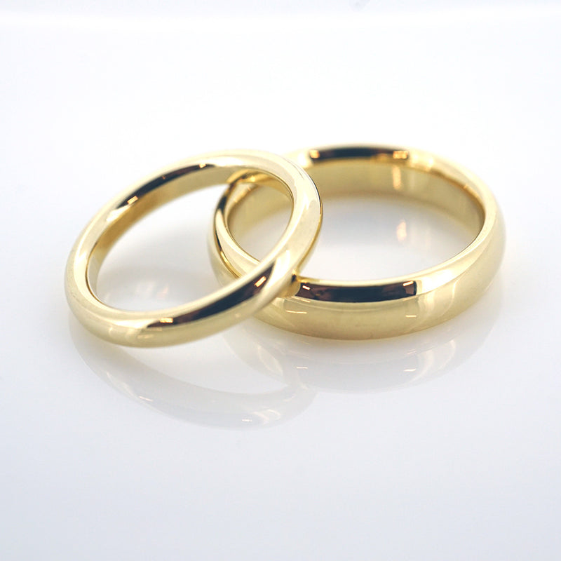 Classic Yellow Gold Band in 14k Yellow