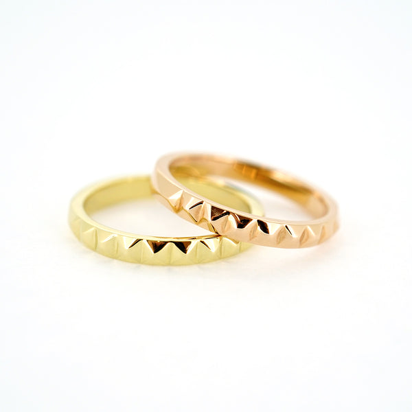 Pyramid Stackable Ring