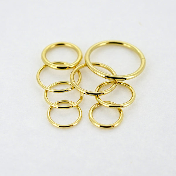 18k Gold Seamless Ring