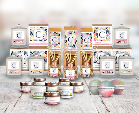 Coorong Candle Co Range of Home & Body Products
