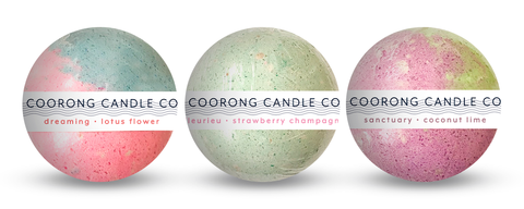 Natural Bath Bombs by Coorong Candle Co