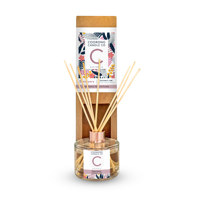 'Sanctuary' Coconut Lime Reed Diffuser