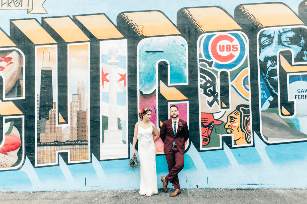 Casey & Nick : Vibrant Fall Wedding in Chicago, IL