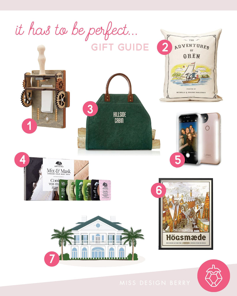 "Kristin's ""it has to be perfect"" Holiday Gift Guide"