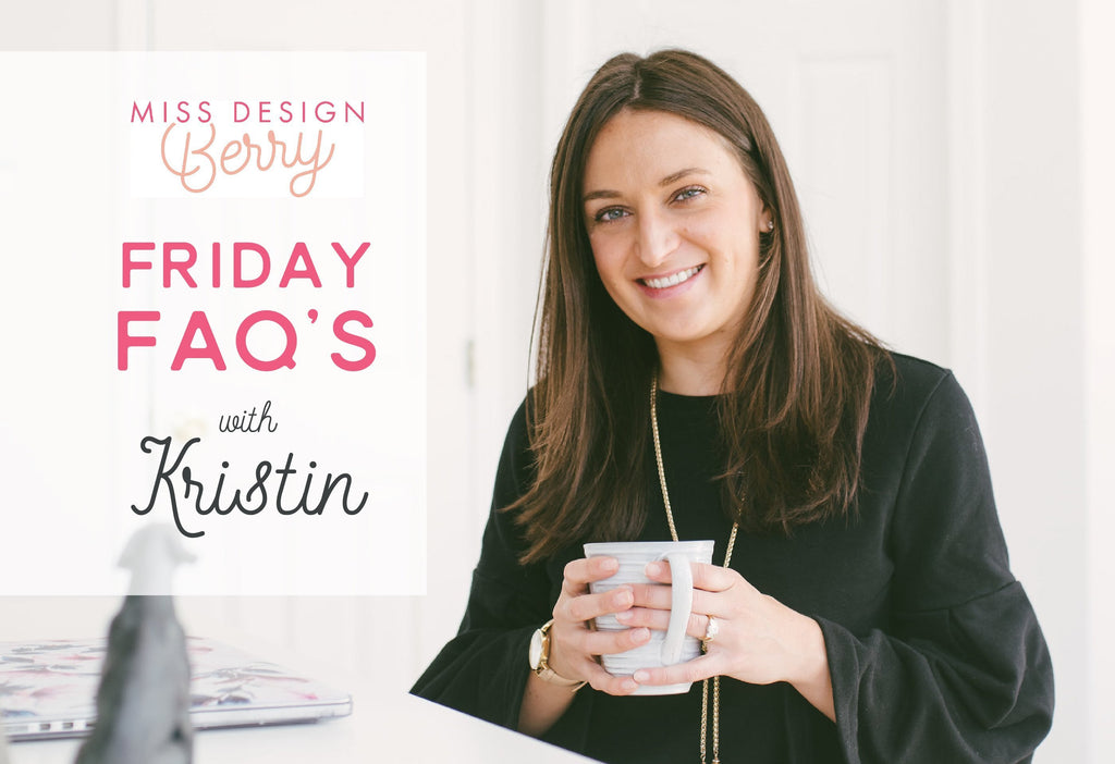 Miss Design Berry Q&A with Kristin