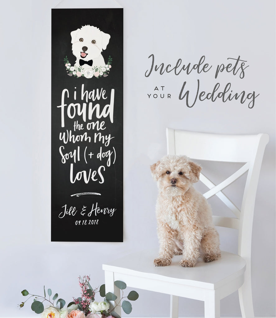 8 New & Unique Ways to Include your Pet in your Wedding!