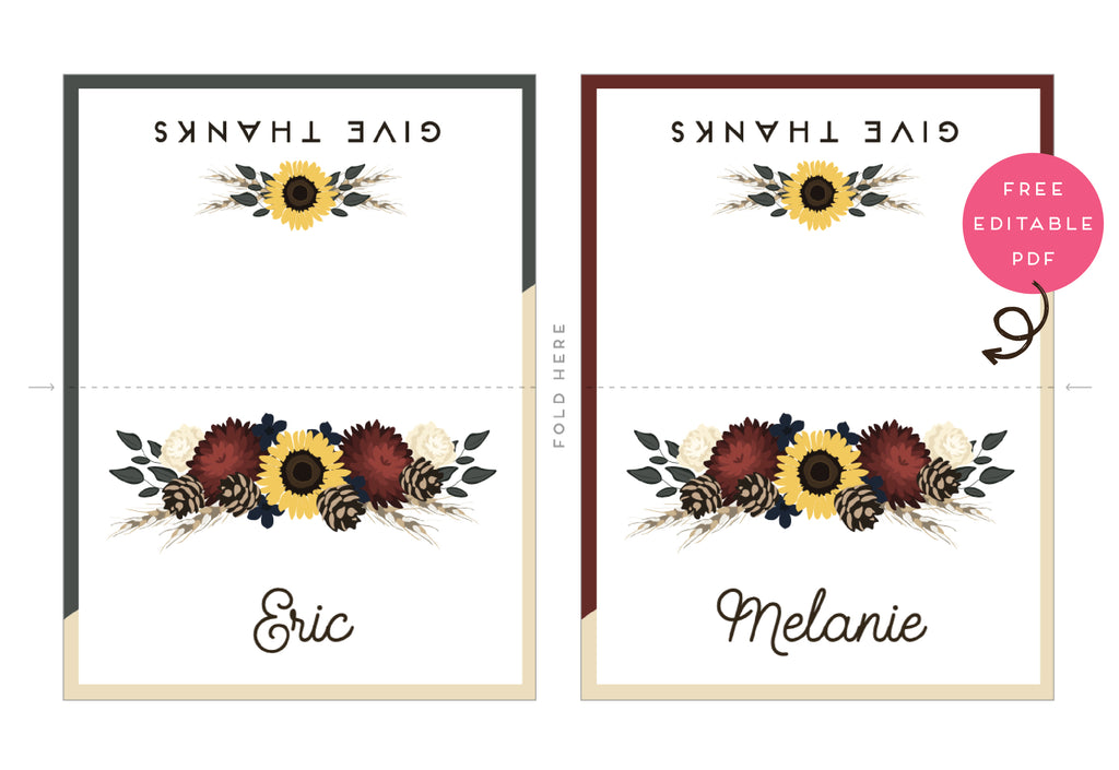 Give thanks for FREE PRINTABLES!