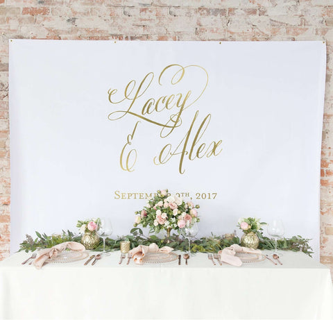 Miss Design Berry Backdrop Gold Wedding Backdrop Curtain