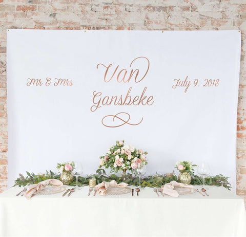 Miss Design Berry Backdrop Wedding Backdrop Curtain - The Bella