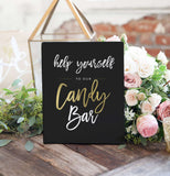 Miss Design Berry Digital Sign Digital - Wedding Candy Bar Sign - The Penny