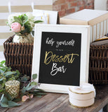 Miss Design Berry Digital Sign Digital - Wedding Dessert Bar Sign - The Penny