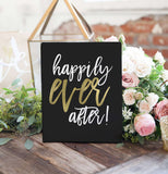 Miss Design Berry Digital Sign Digital - Wedding Sign - Happily Ever After - The Penny