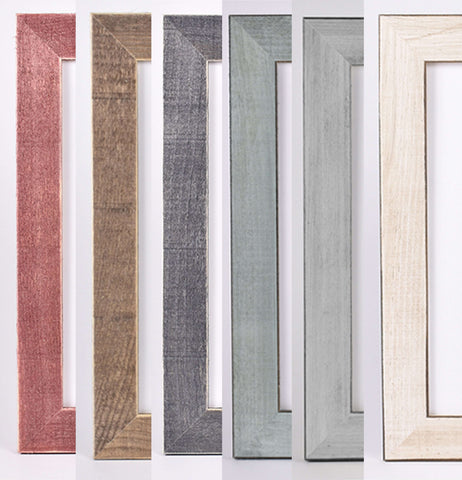 Miss Design Berry Frame Handcrafted Wood Frames - Rustic Style
