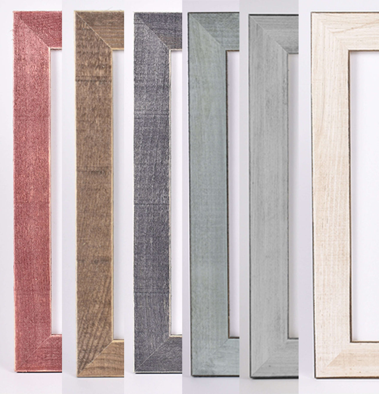 Handcrafted Wood Frames - Rustic Style