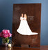 Miss Design Berry Guest Book Alternative Wood Wedding Guest Book Alternative with Couple Portrait