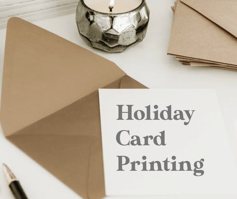 Holiday Card Printing Miss Design Berry